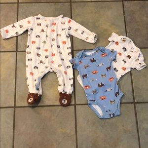 Carter's footed sleeper bodysuit bundle 🐻
